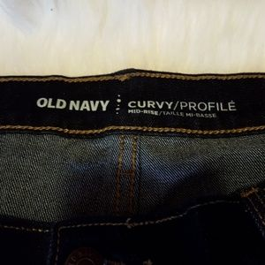 Old Navy Jeans - Old Navy Curvy Profile Jeans